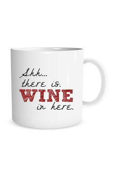 Shhh...There is wine in here.