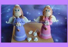 Angelitas para Bautismo