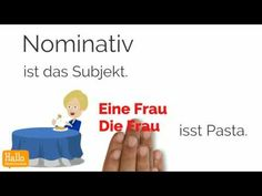 (1) Akkusativ Deutsch lernen - YouTube