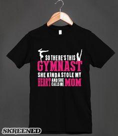 Proud Gymnastics Mom #SKREENED