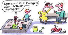 """Copyright Renate Alf und Lappan Verlag  http://kindertraeume.frei-raum-zeit.de/?p=184  Cartoonauszug aus """"Für aufgeweckte Eltern!"""""""