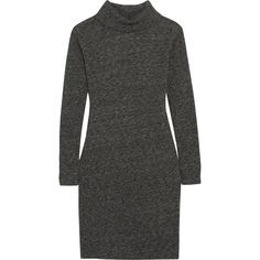 Madewell Knitted turtleneck sweater dress (13.115 RUB) ❤ liked on Polyvore featuring dresses, sweater dress, grey, grey dress, gray sweater dress, madewell, madewell dresses and gray turtleneck