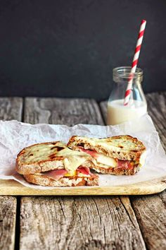 Prosciutto, Quince and Pear Grilled Sandwich
