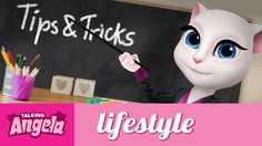 Talking Angela - Be Cool for School xo, Talking Angela #TalkingAngela #LittleKitties #MyTalkingAngela