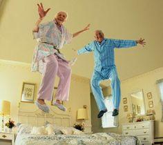 Os idosos são mais felizes