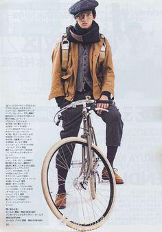 An actual dapper Japanese cool guy from Men's Non-No.