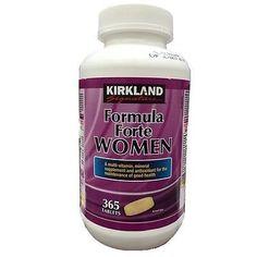 Kirkland Signatur Formula Forte Women 365 Tablets 365 ** You can get additional details at the image link.