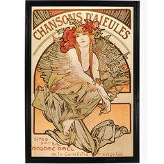 Chansons Daieules by Alphonse Mucha