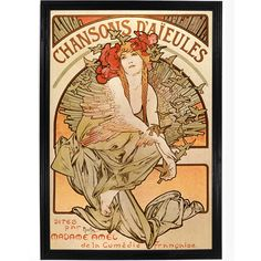 Chansons Daieules by Alphonse Mucha