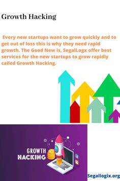 Growth hacking is an umbrella term for strategies focused solely on growth. It is usually used in relation to early-stage startups who need massive growth in a short time on small budgets. Facebook Marketing, Social Media Marketing, Digital Marketing, Seo Software, Search Ads, Growth Hacking, Seo Strategy, You Youtube