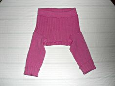 Small pink 100% Cashmere Diaper Cover $10.00