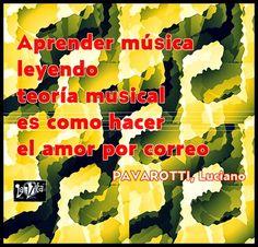 LaVita Music Gifts: FRASES DE LA MÚSICA. LUCIANO PAVAROTTI