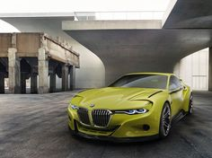 BMW  Sheer dynamics, impressive heritage: the BMW 3.0 CSL Hommage is the BMW Design Team's tribute to the BMW 3.0 CSL, a timeless classic and iconic BMW Coupe from the 1970s. Exclusively presented at the 2015 Concorso d'Eleganza Villa d'Este.