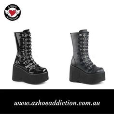 Shop a huge collection of womens gothic boots online. Our gothic boots for women include platforms, heels, combat styles, and much more. These are available at various sizes and color variations. Buy our products at competitive prices. We are also available with afterpay and laybuy options. You can buy now and pay later. Feel free to contact us at 0402 590 031 or go through our website once.
