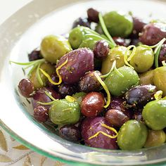 Honeyed Olives | Make this flavorful appetizer up to a week early.