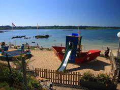Camping du Port // Pleumeur Bodou // Côtes d'Armor Bretagne // Pieds dans l'eau // Vacances-Campings