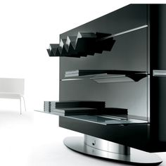meuble s parateur de pi ce pivotant tvs audio et t l vision murale. Black Bedroom Furniture Sets. Home Design Ideas