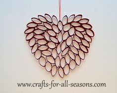 Valentine's Day Crafts For Adults | ThingsNeeded for the Valentine's day heart: