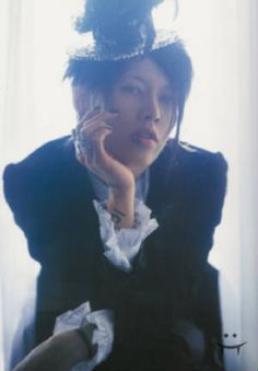 Miyavi channels Ciel Phantomhive? I may have just drooled on my keyboard.