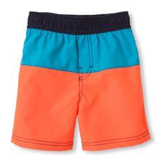 colorblock swim trunks - children's place