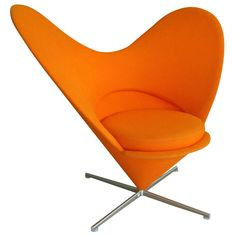"Verner Panton ""Heart Cone"" Chair 