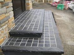 Limestone step Tile Floor, Restoration, Flooring, Stone, Architecture, Arquitetura, Rock, Tile Flooring, Wood Flooring