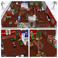 Christmas Sims Freeplay Original House Design FLOOR #2