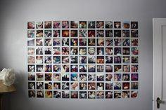 #instagram wall #diy #sugarhillblog