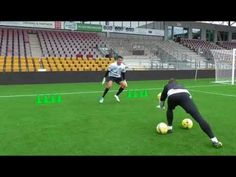 Ilija Catic goalkeeper training at Viborg Koceic academy Football Training Drills, Goalkeeper Training, Soccer Goalie, Soccer Drills, Football Soccer, College Football, Volleyball Tips, Soccer Tips, Golf Tips