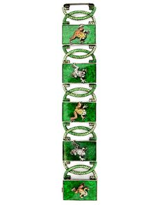 Wendy Yue - Jade and Ombre Frog Bracelet