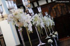 Lee James Floral, White Rose, Wedding, Church Wedding, Ceremony Aisle Design, Unrue Photography