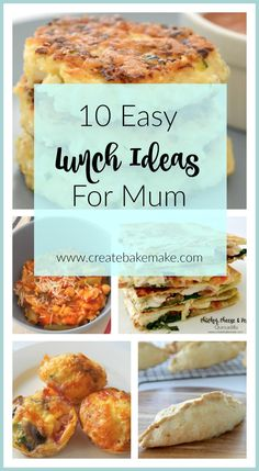 Easy Lunch Ideas for Mum