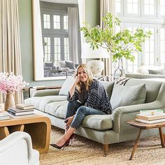 When I stumbled upon these photos of Edie Parker founder Brett Heyman's home I immediately wanted to cover my walls in dark green paint. Published on One Kings Lane, the accessories designer's Connecticut country retreat is an artful balance of bold statements (the dining room!) and subtle neutrals (the master bedroom!). The property was previously published by Architectural …