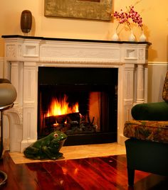 Historic Cortez Hill mantel by Marsha Sewell