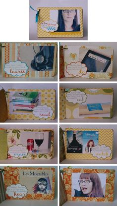 mini scrapbook!