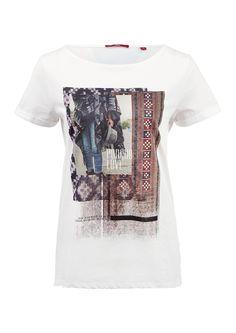 T-Shirt mit Printcollage von s.Oliver. Entdecken Sie jetzt topaktuelle Mode für…