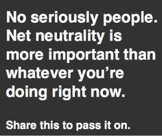 #Comcast, Verizon, AT&T, and Time Warner are spending more than $1 million per week lobbying to Slow down your internet. #internetslowdown - PROTEST AND TESTIFY