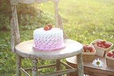 My little Letty Lou's smash cake. Photo courtesy of Krista Brown Photography.