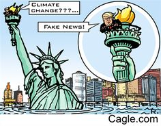 Climate change is fake news.