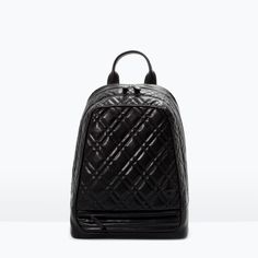 Image 1 of QUILTED RUCKSACK from Zara
