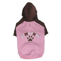 Casual Canine 16-Inch Polyester and Cotton Camp Chew Dog Hoodie, Medium, Orchard Pink * You can find more details by visiting the image link. (This is an affiliate link) #Pets