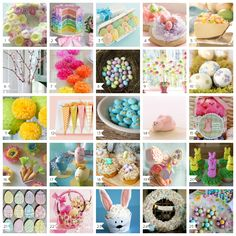 #100 Easter Recipes, Crafts, Decorations and More  !! - A Helicopter Mom
