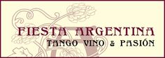 Das Logo der Fiesta Argentina symbolisiert stilvollen Genuss und Kultur.