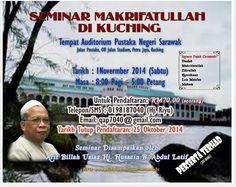 Seminar Ustaz Hj Hussein Abdul Latif di Pustaka Negeri Sarawak