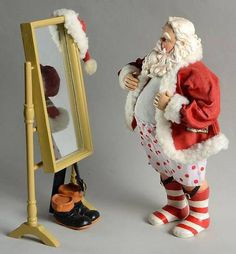 Possible Dreams, Clothtique Figurines - Page 1 Irish Christmas, Twelve Days Of Christmas, Father Christmas, Christmas Crafts, Merry Christmas, Christmas Decorations, Christmas Outfits, Christmas Ornaments, Xmas