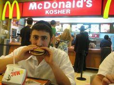Kosher Mcdonalds!!!