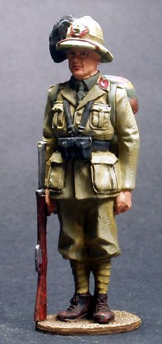 WW 031 ITALIAN BERSAGLIERE AFRICA 1940
