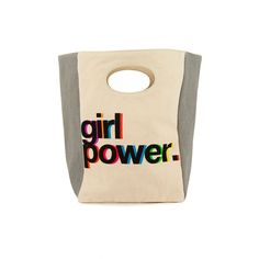 Classic Lunch Bag in Girl Power