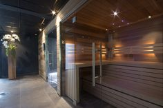 Sauna made by VSB Wellness Wellness, Infrared Sauna, Home Spa, Villa, Relax, Warehouse, Sleep, Quartos, Relaxing Room