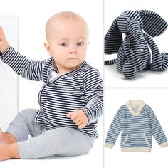 images of babies' fashions | Striped Baby Clothes